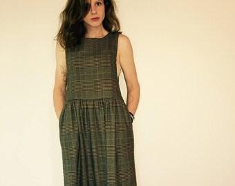 Vintage Plaid Dress 6