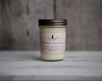 Simply Vanilla Soy Candle