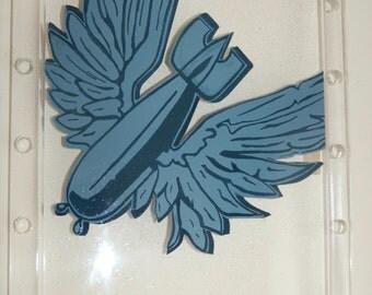 English Electric Canberra 39 Squadron Nose Art Emblem RAF