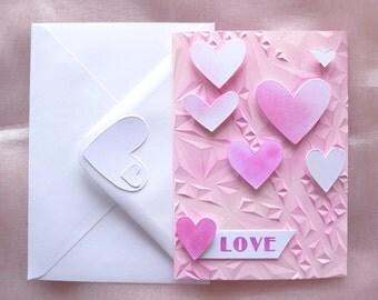 Valentines card - Love