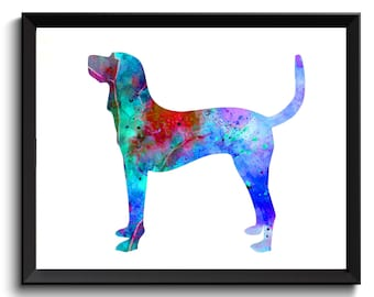 Chesapeake Bay Retriever Artwork -Hound Dog Art, Chesapeake Bay Art Print, Dog Wall Art, Chesapeake Bay Retriever Poster, Printable Dog Art