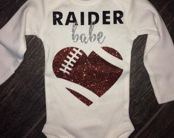 Oakland Raiders Baby Etsy