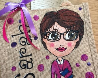 Hand Painted Personalised Bags