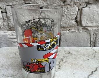 Glass Spa-Francorchamps Vintage F1 Racing