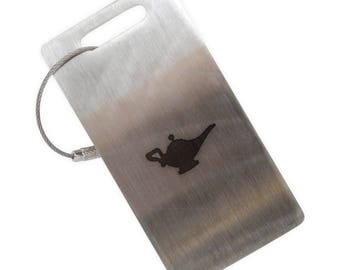 Magic Lamp Stainless Steel Luggage Tag