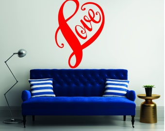 Cupid Love Quotes  - Mural Wall Decal For Home Bedroom Living Room