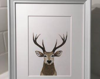 Stag - Art Print