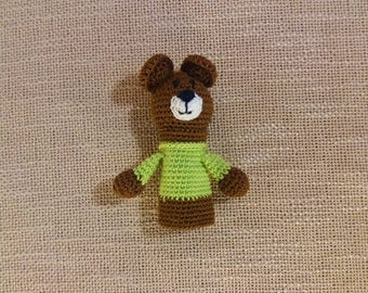 Bear puppet, Finger-toy, finger puppets, Finger dolls