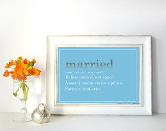 Married Print