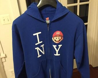 Vintage Nintendo Mario NY Sweatshirt