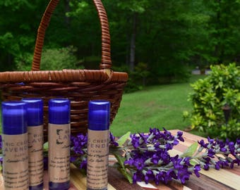 Lavender and Lavender Mint Lip Balm