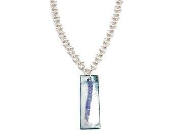 Tanzanite Bead Necklace