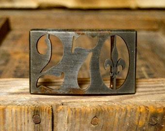 270 Aged Metal Belt Buckle