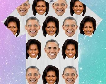 Barack and Michelle Obama Tee
