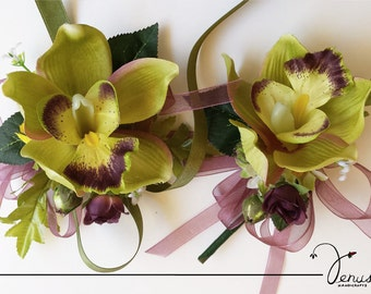 Fancy Corsage and Boutonniere