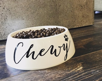Personalized Dog Bowl, Dog Bowl, Pet Bowl, Dog Lover Gift, Personalized Gift, Food Bowl