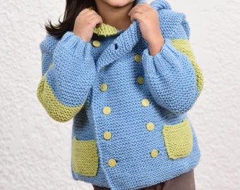 knitted kid's jacket