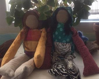 Funky Handmade Dolls