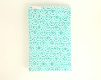 Mermaid Swaddle Blanket / Baby Shower Gift / Mermaid Receiving Blanket / Cute Baby Blankets / Blue Mermaid Swaddle / Free Shipping