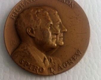 1968 Nixon Agnew campaign token