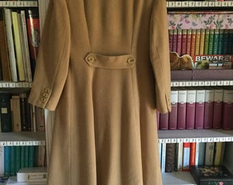Beautiful long coat camel