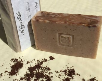 Sweet Vanilla Beans Handmade Natural Soap Vegan Organic