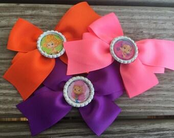 Bubble Guppies Bow/ Deema Bow / Molly Bow / Oona Bow