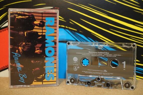Animal Boy by Ramones Vintage Cassette Tape