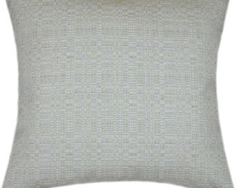 Sunbrella Linen Silver Indoor/Outdoor Pillow