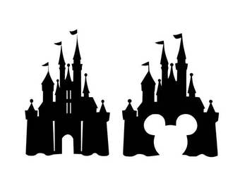 Disney Castle svg, Disney svg, mickey svg, mickey mouse svg, dxf, cricut, silhouette cutting file, download