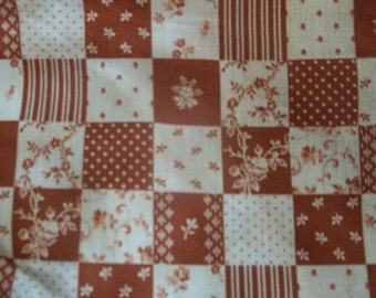 Patchwork Print Fabric