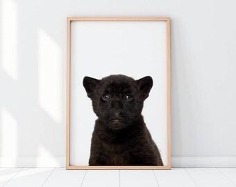 Jaguar Cub, Baby Jaguar, Jaguar, Panthera, Panthera Onca, Jaguar Printable, Jaguar Artwork, Nursery, Nursery Decor, Nursery Room, Baby Room