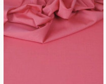 Cotton Poplin - col: CARNATION (Pink)