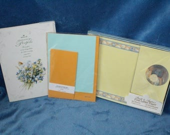 Set of Vintage Stationery incl. Hallmark and Others
