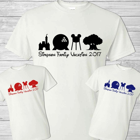 Disney family vacation shirt home personalized for Custom t shirts family vacation