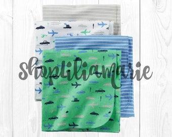 Baby Boy Swaddle Baby Boy Recieving Blanket Set