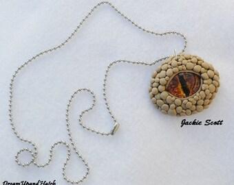 Eye, Pendant, Snake-Dragon Eye Necklace