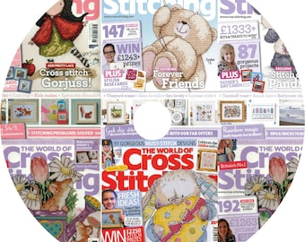 The World of Cross Stitching Magazine Archive 28 Issues