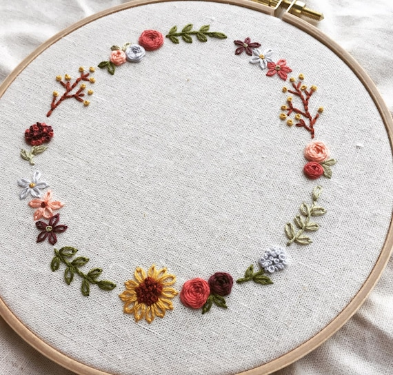 Hoop Wreath With Letter