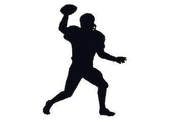Football Machine Embroidery Design, quarterback machine embroidery, football embroidery design, football design, quarterback pattern, sport