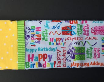 Presents Birthday Pillowcase