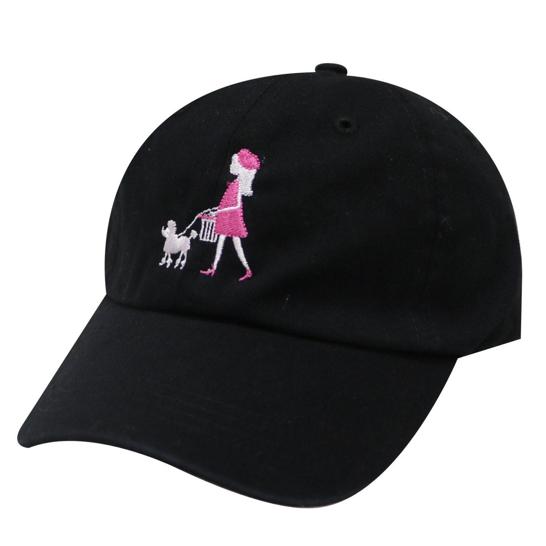 798faa155e1 Capsule Design Paris Paris Cotton Baseball Cap Black