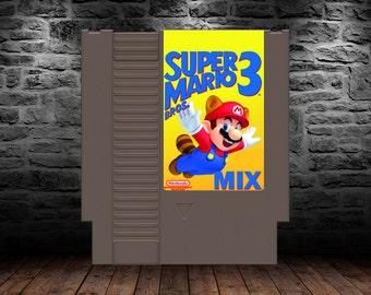 Super Mario 3 Mix - Mario 3 Remixed and Enhanced - NES