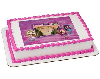 Little Charmers Sparkle Everything Picture Frame Edible Cake Topper