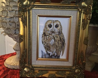Ornate Gilt Canvas Frame 5x7