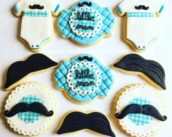 Mustache Baby Shower Decorations | Etsy