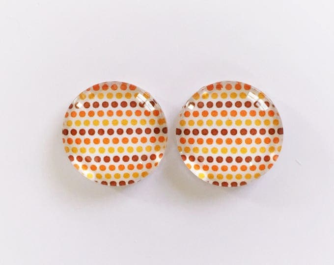 The 'Katherine' Glass Earring Studs