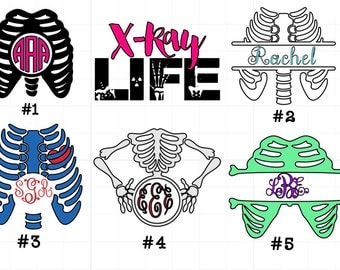 Xray / Radiology Decals