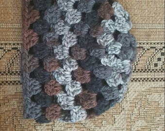 Adult Crocheted Hat- Multicolor