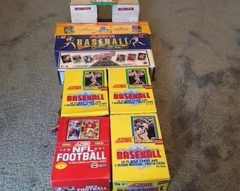 Baseball & Football Cards- Mint Condition